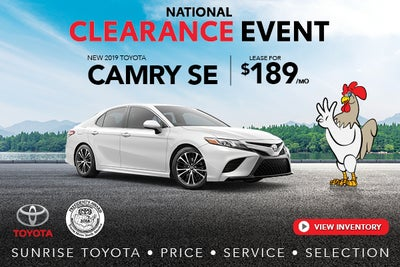 New Toyota Specials Sunrise Toyota In Oakdale Near South Shore Ny